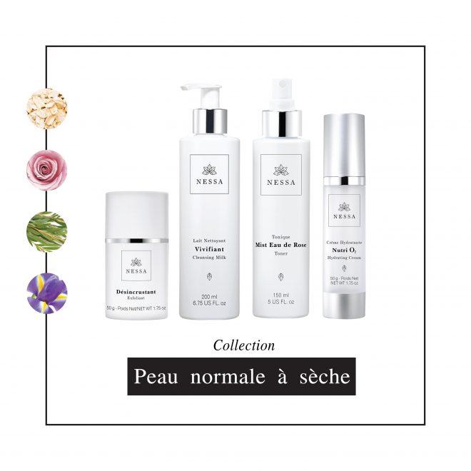 Nessa cosmétiques - Collection Peau normale à sèche